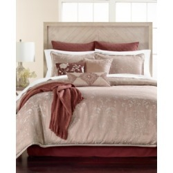 Martha Stewart Collection Distressed Damask 14-Pc. Queen Comforter Set, Created for Macy's Bedding
