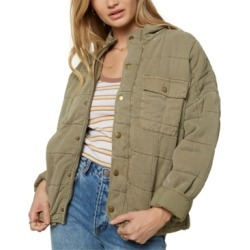O'Neill Juniors' Mable Quilted Jacket found on MODAPINS from Macy's for USD $110.00