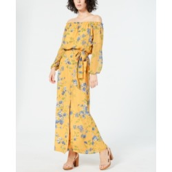 I.n.c. Long-Sleeve Off-the-Shoulder Floral Maxi Dress, Created for Macy's found on Bargain Bro India from Macys CA for $51.35