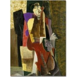 Max Weber 'The Cellist' Canvas Art - 32