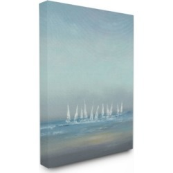 Stupell Industries The Regatta Abstract Seascape Canvas Wall Art, 30