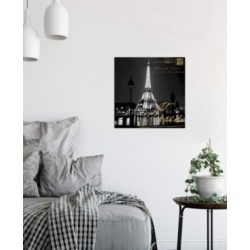 "iCanvas ""Paris At Night"" by Kate Carrigan Gallery-Wrapped Canvas Print (26 x 26 x 0.75)"
