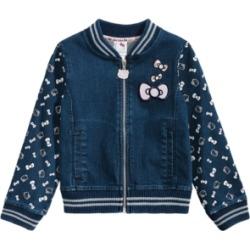 Hello Kitty Little Girls Denim Knit Jacket found on MODAPINS from Macy's Australia for USD $54.79