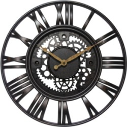 Infinity Instruments Round Wall Clock found on Bargain Bro Philippines from Macy's Australia for $50.87