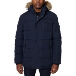 Nautica Men's Parka with Removable Faux-Fur Trimmed Hood found on MODAPINS from Macy's for USD $96.25