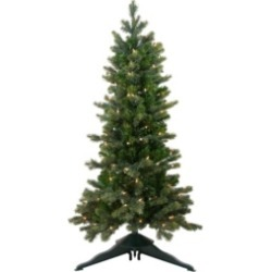 Northlight 4' Pre-Lit Savannah Spruce Slim Artificial Christmas Tree - Clear Lights found on Bargain Bro India from Macys CA for $319.00
