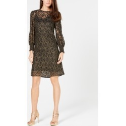 Michael Michael Kors Metallic Rose Lace Dress found on Bargain Bro India from Macys CA for $86.45