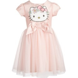 Hello Kitty Toddler Girls Flower Crown A-Line Dress found on MODAPINS from Macy's for USD $27.00