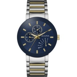Bulova Men's Futuro Two-Tone Stainless Steel Bracelet Watch 40mm