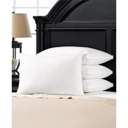 Soft Plush Gusseted Soft Gel Filled Stomach Sleeper Pillow - Set of Four - Queen