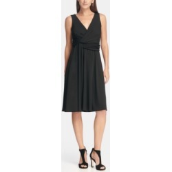 Dkny V-Neck Side Twist Jersey A-Line Dress, Created for Macy's found on MODAPINS from Macy's for USD $49.99