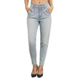 Kendall + Kylie Juniors Pleated Straight-Leg Jeans found on MODAPINS from Macy's for USD $49.00