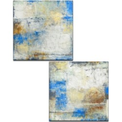 Ready2HangArt, 'The View I/Ii' 2 Piece Abstract Canvas Wall Art Set, 30x30