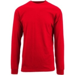 Galaxy By Harvic Men's Egyptian Cotton-Blend Long Sleeve Crew Neck Tee found on MODAPINS from Macy's for USD $17.00