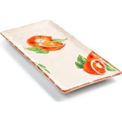 Viva by Vietri Fresh Fruit Orange Rectangular Platter, Created for Macy's found on Bargain Bro India from Macy's for $26.00