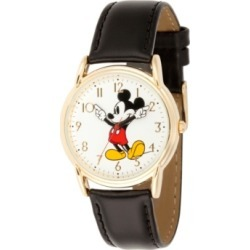 Disney Mickey Mouse Men's Gold Cardiff Alloy Watch found on Bargain Bro India from Macy's for $39.99