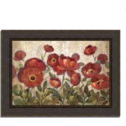 Tangletown Fine Art Daydreaming Flowers by Silvia Vassileva Framed Painting Print, 38