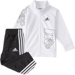 Adidas Baby Boys Zip Front Brand Love Jacket & Pant Set found on Bargain Bro India from Macy's for $44.00