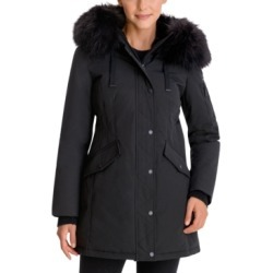 BCBGeneration Faux-Fur-Trim Hooded Parka found on MODAPINS from Macy's Australia for USD $221.78