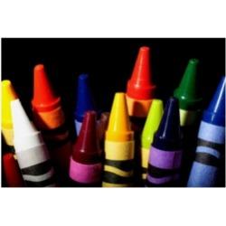 Dana Brett Munich Crayons Canvas Art - 36.5
