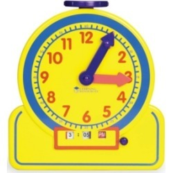 Learning Resources Primary Time Teacher Junior 12-Hour Learning Clock