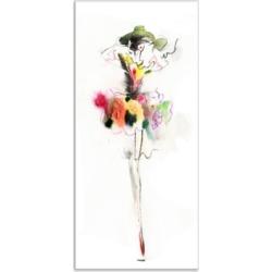 Designart Beautiful Fashion Girl Portrait Canvas Artwork Print - 16