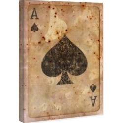Oliver Gal Ace of Spades Canvas Art, 10