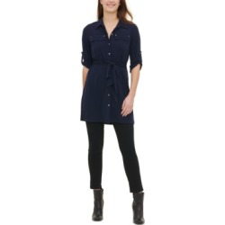 Calvin Klein Tunic Utility Shirt