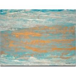 Ready2HangArt 'Dazzling Water I' Abstract Canvas Wall Art - 30