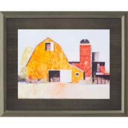 """Paragon Barn No.3 Framed Wall Art, 37"""" x 45"""""""