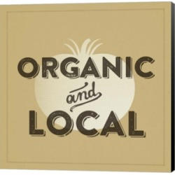 Organic And Local Ii by Dallas Drotz Canvas Art