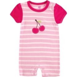Hudson Baby Striped Cherry Romper, 0-9 Months found on Bargain Bro India from Macy's Australia for $11.55