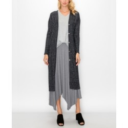 Women's Cozy Back Slit Pocket Duster found on MODAPINS from Macy's for USD $77.50