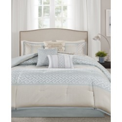 Madison Park Addison 7-Pc. King Comforter Set Bedding found on Bargain Bro India from Macy's for $150.99