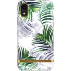 Richmond & Finch White Marble Tropics Case for iPhone Xr