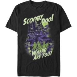 Fifth Sun Scooby-Doo Men's Where Are You Haunted House Short Sleeve T-Shirt found on MODAPINS from Macy's Australia for USD $26.60