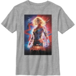 Fifth Sun Marvel Big Boys Captain Marvel Big Boys Movie Poster Suited Up Short Sleeve T-Shirt found on Bargain Bro Philippines from Macy's for $21.99