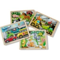 Melissa and Doug Jigsaw Bundle 4 Puzzle Bundle