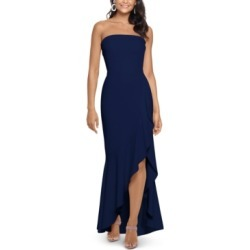 Xscape Ruffled Strapless Gown found on MODAPINS from Macy's Australia for USD $199.49
