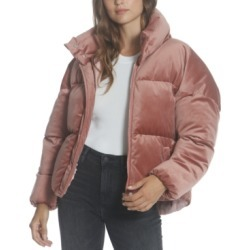 Vigoss Velvet Puffer Jacket found on Bargain Bro Philippines from Macy's for $98.00