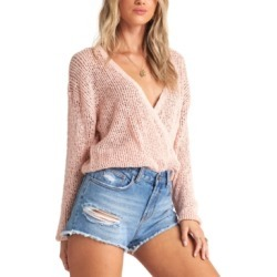 Billabong Juniors' Sweet Bliss Wrap Sweater found on MODAPINS from Macy's Australia for USD $48.30