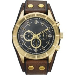 Inc Men's Brown Cuff Strap Watch 48mm, Created for Macy's found on Bargain Bro Philippines from Macy's for $37.12