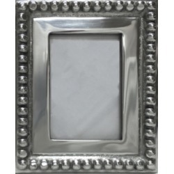 "St. Croix Kindwer Imperial Beaded 5"" x 7"" Photo Frame"