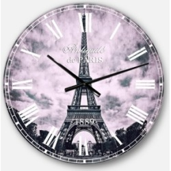 Designart Skyline Oversized Round Metal Wall Clock found on Bargain Bro Philippines from Macy's Australia for $212.05