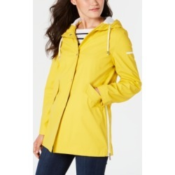 French Connection Hooded Zip-Slit Raincoat found on MODAPINS from Macy's Australia for USD $126.91