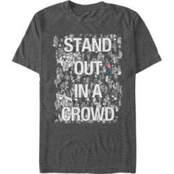 Fifth Sun Where's Waldo Men's Stand Out In A Crowd Short Sleeve T-Shirt
