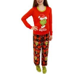 Matching Girls Grinch 3pc Family Pajama Set