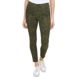 Calvin Klein Jeans Python-Print High-Rise Skinny Jeans found on MODAPINS from Macy's for USD $79.50