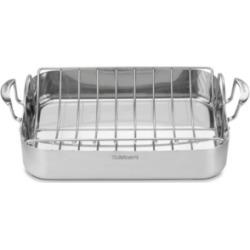 "Cuisinart MultiClad Pro 16"" Rectangular Roaster with Rack"