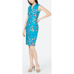 c3912379 Calvin Klein Floral-Print Sheath Dress found on MODAPINS from Macy's for  USD $69.99